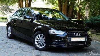 Audi A4 sedan quattro 2015r. auto do ślubu SanSzu , eleganckie, Samochód, auto do ślubu, limuzyna Leszno
