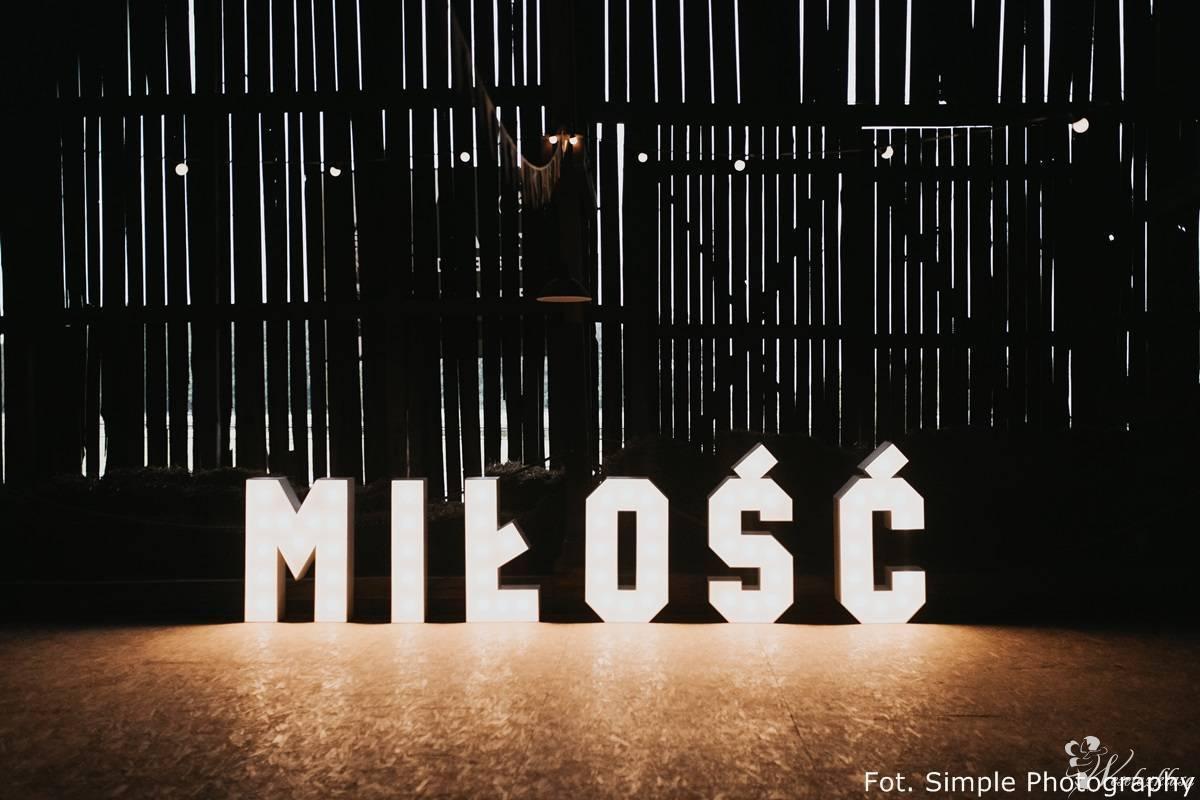 Podświetlany napis MIŁOŚĆ 100cm LED - SPRZEDAM!, Poznań - zdjęcie 1