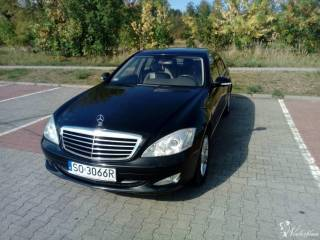 Mercedes Benz W221 S350 Czarny,  Sosnowiec