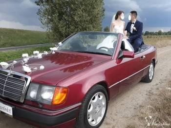 piękny Mercedes W124 CABRIO 3.0 24V, Samochód, auto do ślubu, limuzyna Głogówek