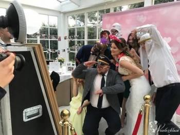 🔥 FOTOLUSTRO + ZŁOTA RAMA📸 FOTOBUDKA / napis LOVE ⭐CZERWONY DYWAN 💖, Fotobudka, videobudka na wesele Sulejówek