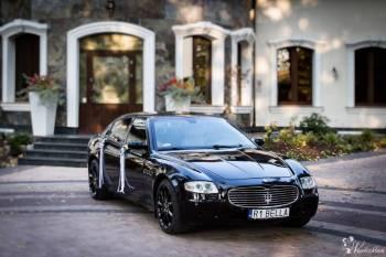 Maserati Quattroporte, Samochód, auto do ślubu, limuzyna Sanok