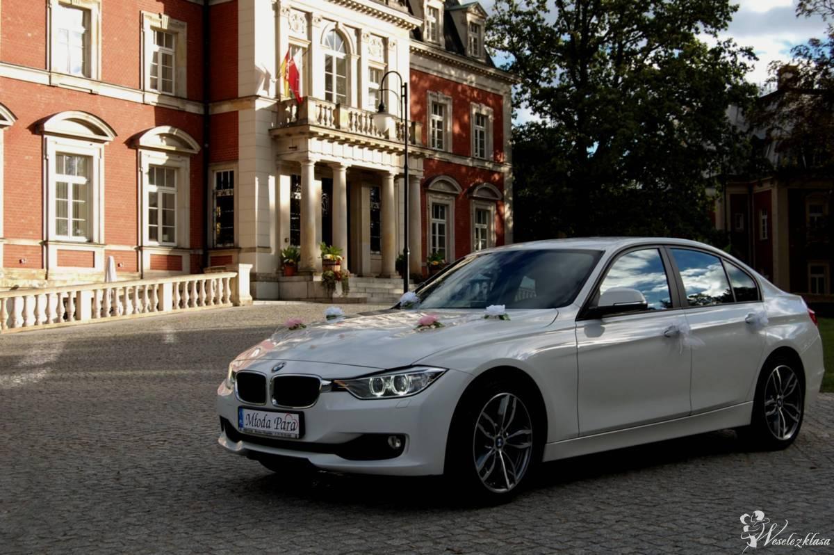 Auto do ślubu, wesela, sesji zdjęciowej. BIAŁE - BMW 3 F30, Wrocław - zdjęcie 1