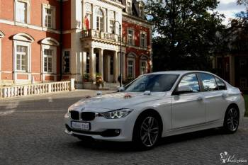 Auto do ślubu, wesela, sesji zdjęciowej. BIAŁE - BMW 3 F30, Samochód, auto do ślubu, limuzyna Żmigród