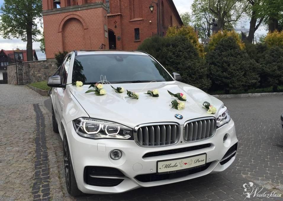 Samochody  Auto do ślubu BMW X5 M biały,Jeep Grand Cherokee złoty, Wrocław - zdjęcie 1