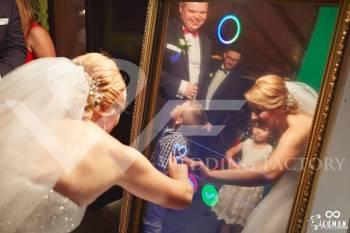 FotoLustro Weneckie 65 cali, Fotobudka, videobudka na wesele Siedlce