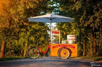 Candy Bike Wata Cukrowa & Popcorn, Unikatowe atrakcje Bierutów