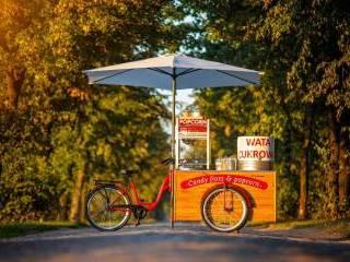 Candy Bike Wata Cukrowa & Popcorn,  Wrocław