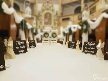 DEKORACJE ŚLUBNE  MAŁGORZATA  - dekoracja ,wypożyczalnia, Dekoracje ślubne Wrocław