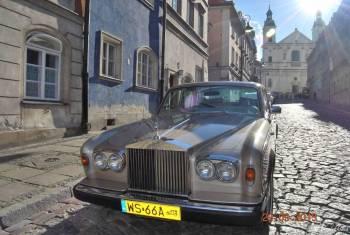 Rolls Royce - piękny jak nowy., Samochód, auto do ślubu, limuzyna Białobrzegi