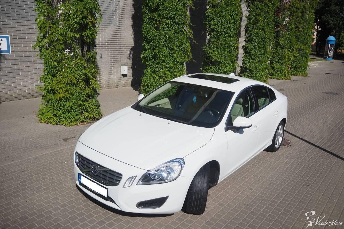 Auto klasy premium - Lśniące Białe Volvo s60 II, Białystok - zdjęcie 1
