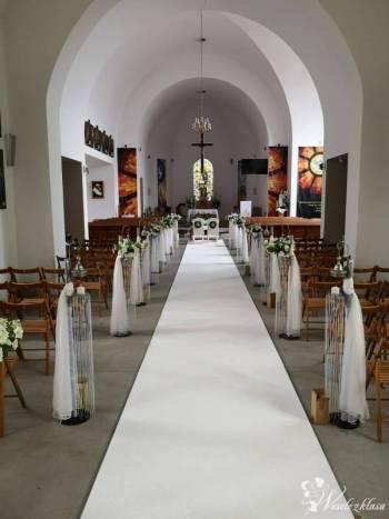 Biały dywan 1.5 metra szeroki Jakośc Premium, Artykuły ślubne Chojnice