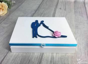 Pudełka na obrączki, pudełka na koperty ślubne, księgi gości - sklep, Artykuły ślubne Janów Lubelski