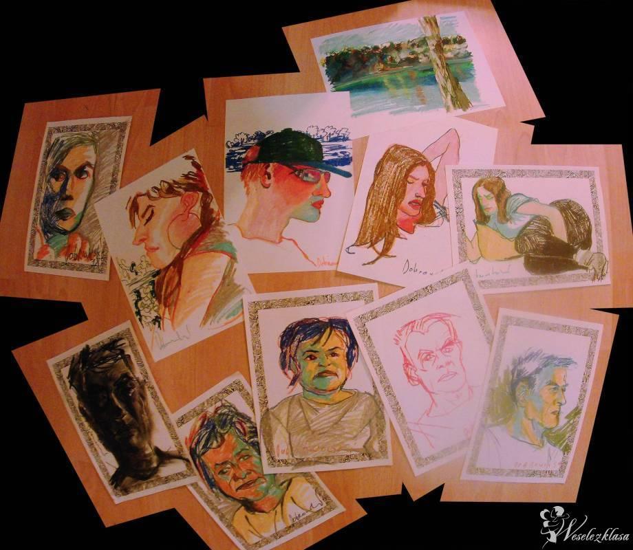 portrecista / karykaturzysta weselny, Kraków - zdjęcie 1