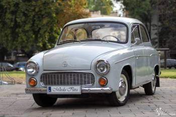 Auto do ślubu, Syrena 104, imprezy okolocznościowe, Samochód, auto do ślubu, limuzyna Międzybórz
