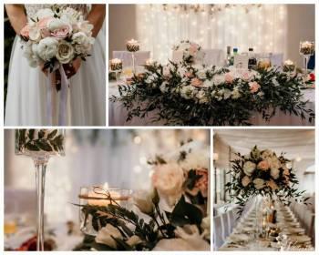 Blossom Avenue - florystyka i dekoracje ślubne, Dekoracje ślubne Sianów