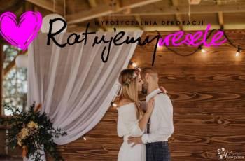 RatujemyWesele Wypożyczalnia Dekoracji, Dekoracje ślubne Nowy Targ