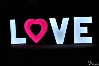 Napis LOVE // PROMOCJE // FotoBudka // Wata cukrowa // Ciężki dym //, Napis Love Lublin