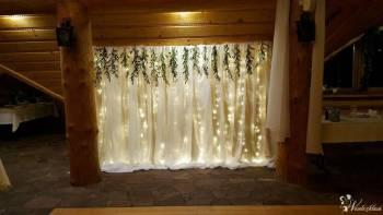 Ścianka do zdjęć | Dekoracja weselna | Ścianka za parą młodą, Dekoracje ślubne Chocianów