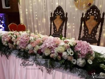 Dekoracja florystyczna ślubów,wesele,dekoracja sal,kościołów,wiązanki, Napis Love Kałuszyn