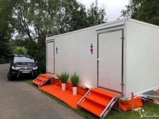 EKSKLUZYWNA MOBILNA TOALETA, Wypożyczalnia namiotów Niemcza