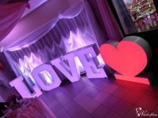 Napis LOVE led,  Ostrołęka