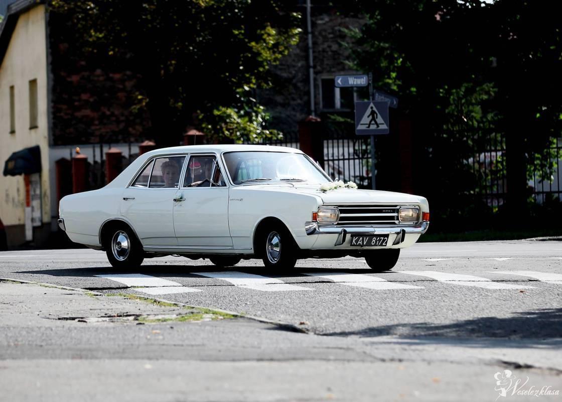 Piękny Opel Rekord, auto do ślubu, samochód na wesele, Będzin - zdjęcie 1