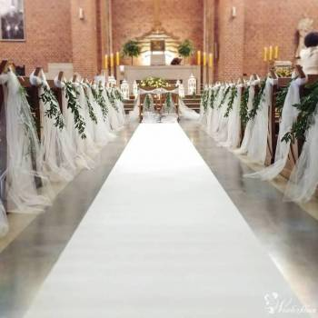 Dekori * Dekoracje Ślubne * Dekoracje sal * Dekoracje kościołów, Dekoracje ślubne Lębork