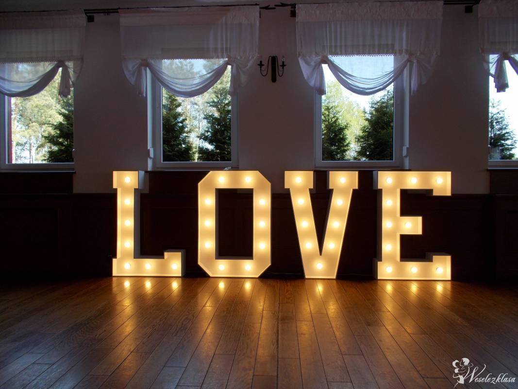 Napis LOVE WYNAJEM, dekoracja światłem FOTO BUDKA!!!, Piotrków Trybunalski - zdjęcie 1
