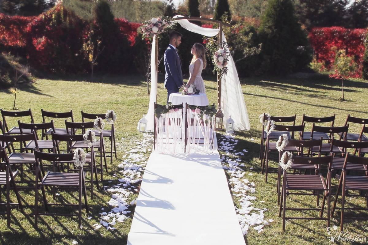 Dekorowanie ślubu w plenerze, kościoła sali, wynajem dekoracji, kwiaty, Katowice - zdjęcie 1