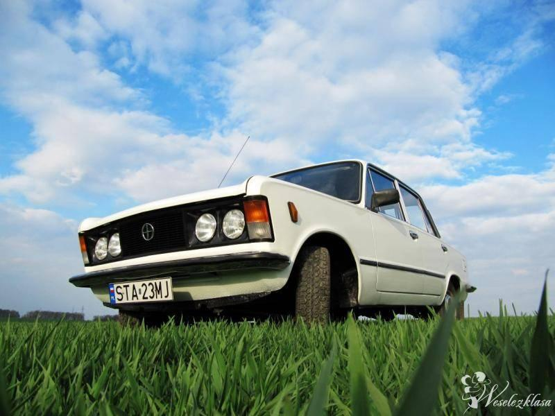 Ślubny Fiat 125p, Tarnowskie Góry - zdjęcie 1