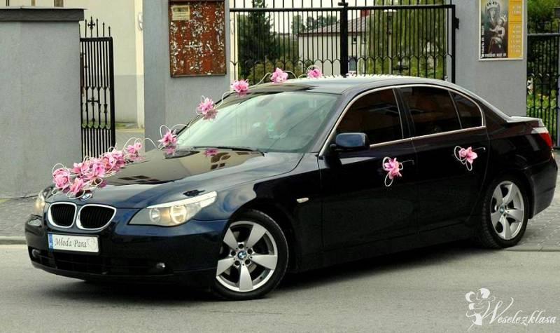 SAMOCHÓD DO ŚLUBU BMW E60 KREMOWE SKÓRY , Warszawa - zdjęcie 1