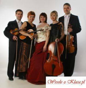 Kwartet smyczkowy z wokalistką, Oprawa muzyczna ślubu Gołańcz