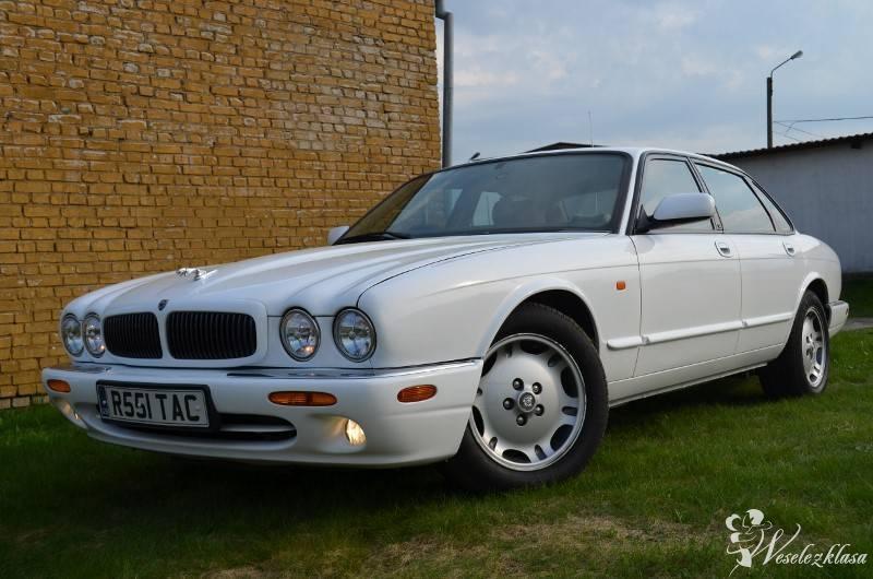 samochód do ślubu jaguar xj 8 sport biały, Kościerzyna - zdjęcie 1