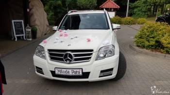 Perłowy Mercedes 250 GLK, Samochód, auto do ślubu, limuzyna Swarzędz