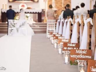 Dekoracje sal weselnych, kościołów, aut, bukiety,  Ostrów Wielkopolski