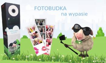 Fotobudka na wypasie, Fotobudka, videobudka na wesele Dobiegniew