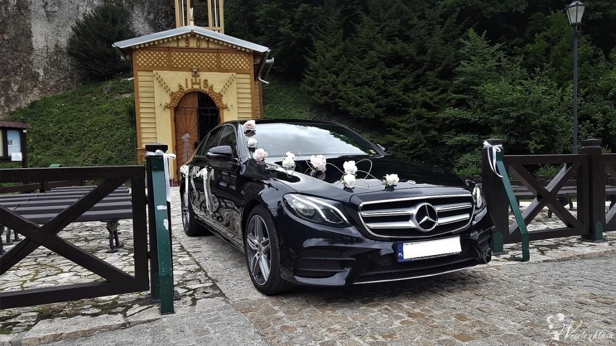 Auto samochód do ślubu Mercedes E Klasa AMG, Kraków - zdjęcie 1