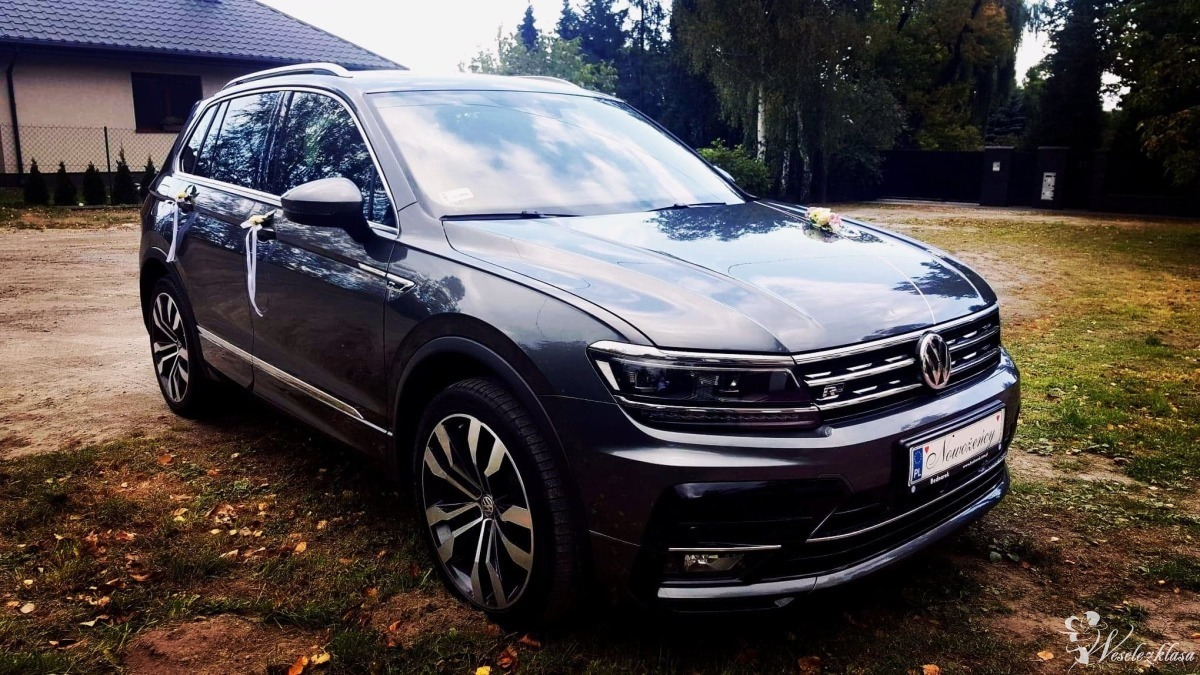 VW TIGUAN HIGHLINE  - PRESTIŻ W NAJLEPSZEJ Cenie | Auto do ślubu, Łódź - zdjęcie 1