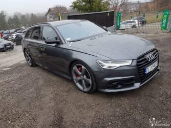 Piękna Audi A6 326km, Samochód, auto do ślubu, limuzyna Międzybórz