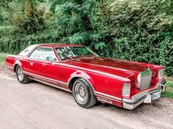 Lincoln Continental Mark V, Samochód, auto do ślubu, limuzyna Pruszków