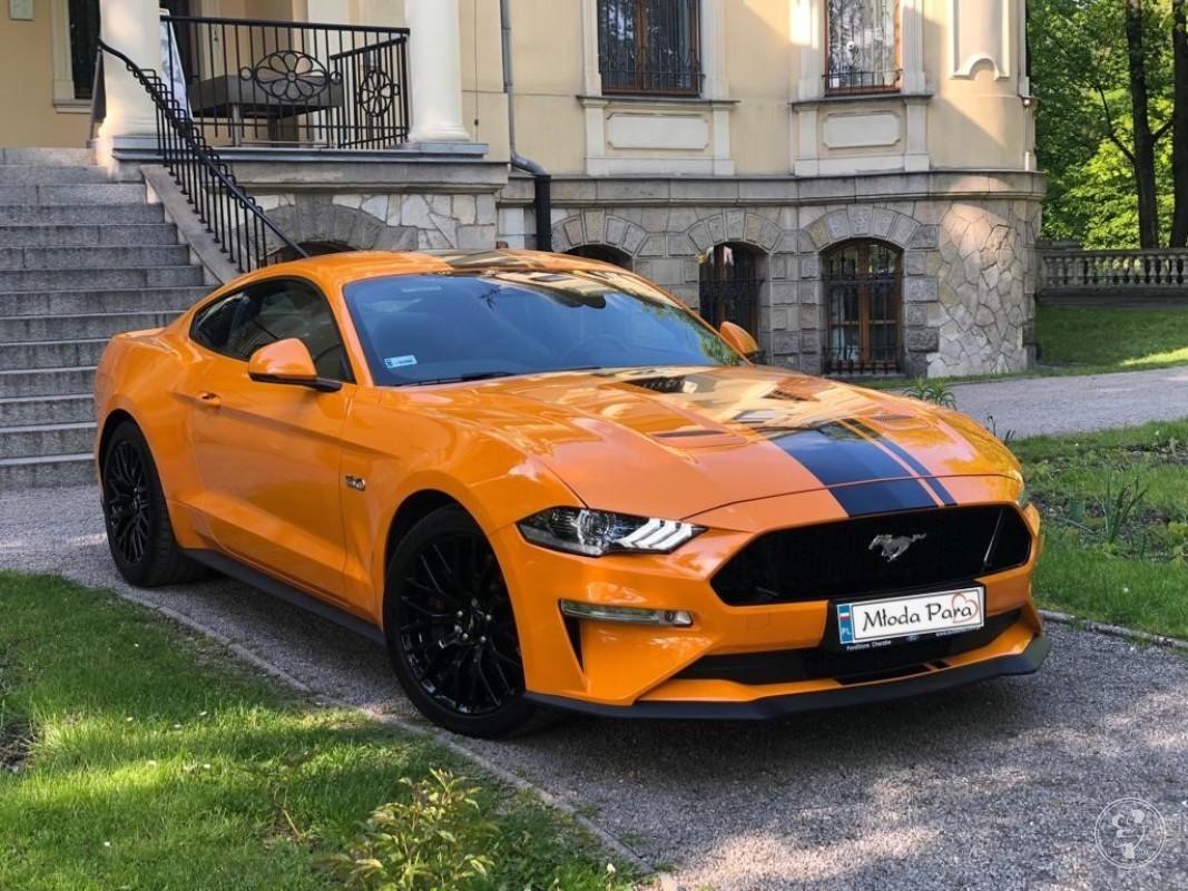 Arteon, Kultowy Ford Mustang, Audi A5 samochód do ślubu, Jaworzno - zdjęcie 1