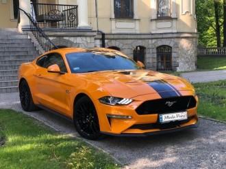 Arteon, Kultowy Ford Mustang, Audi A5 samochód do ślubu,  Jaworzno
