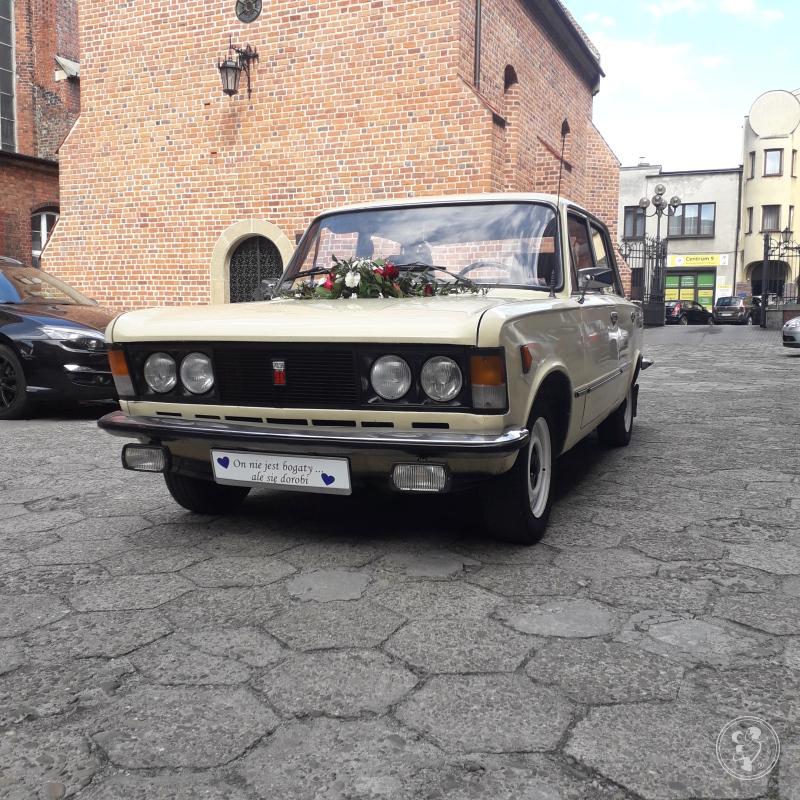 Zabytkowy Fiat 125p do Ślubu czar PRL!!!, Brzeszcze - zdjęcie 1