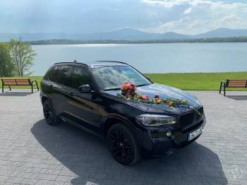 Auto do Ślubu Przepiękne  BMW X5  . MPerformance, Samochód, auto do ślubu, limuzyna Łazy