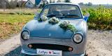 Nissan Figaro piękny klasyk do ślubu, Chojnów - zdjęcie 2