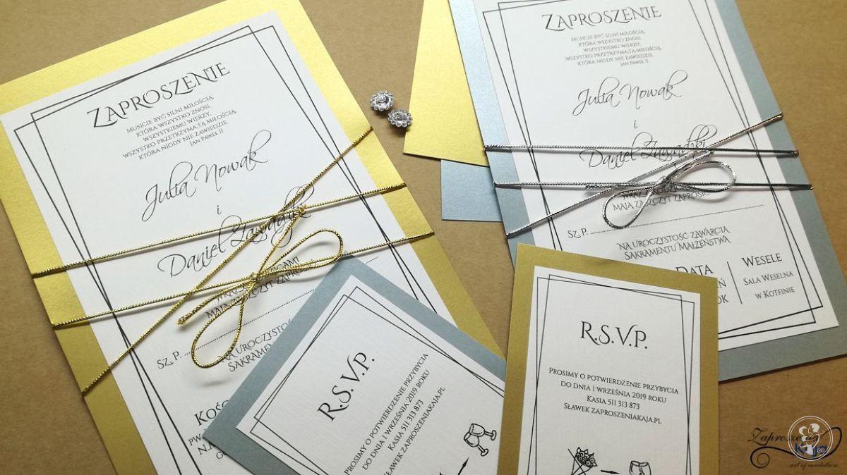 Luksusowe Zaproszenia Ślubne, Opoczno - zdjęcie 1