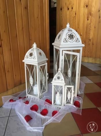 Lampiony- wspaniała dekoracja kościoła lub sali, Artykuły ślubne Piaseczno