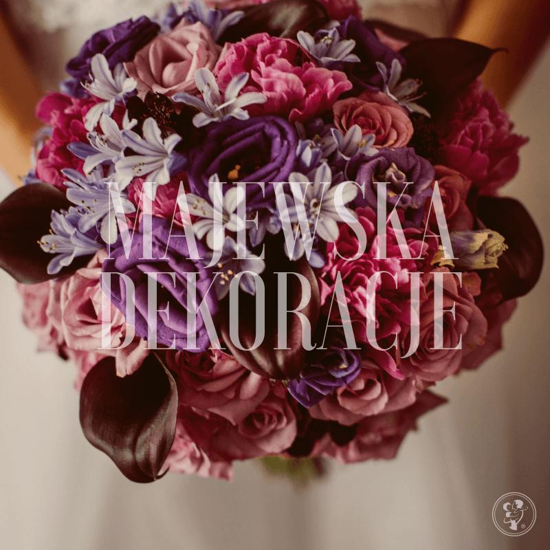 Bukiety ślubne dekoracje ślubne Kwiaciarnia Storczyk Elżbieta Majewska, Lubochnia - zdjęcie 1