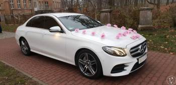 Mercedes E-klasa W213, Samochód, auto do ślubu, limuzyna Kargowa